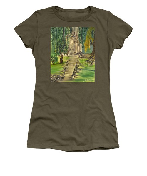 Finding Our Path Women's T-Shirt (Athletic Fit)