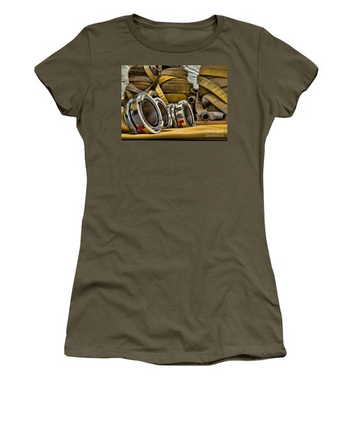 Fire Hoses Women's T-Shirt (Athletic Fit)