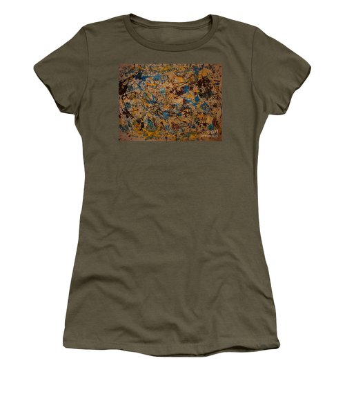 Fire Work Women's T-Shirt (Athletic Fit)