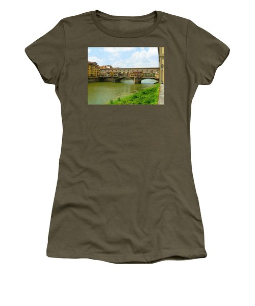 Firenze Bridge Itl2153 Women's T-Shirt