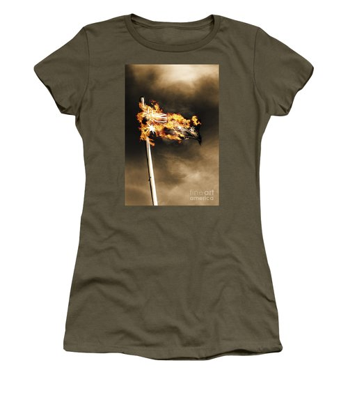 Fires Of Australian Oppression Women's T-Shirt