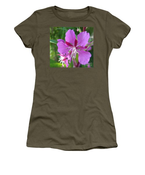 Fireweed 1 Women's T-Shirt (Athletic Fit)