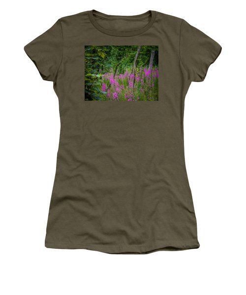 Fireweed In The Irish Countryside Women's T-Shirt