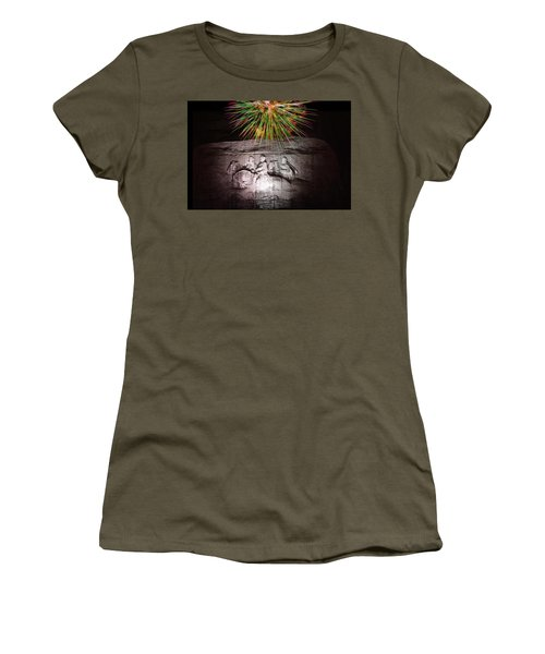 Fireworks Over Stone Mountain Women's T-Shirt