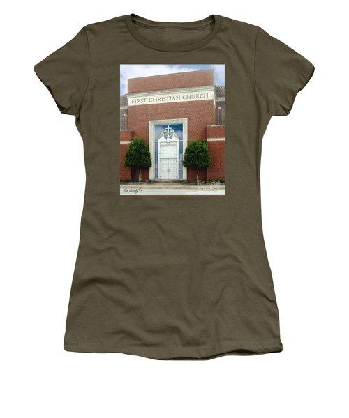 First Christian Church Women's T-Shirt