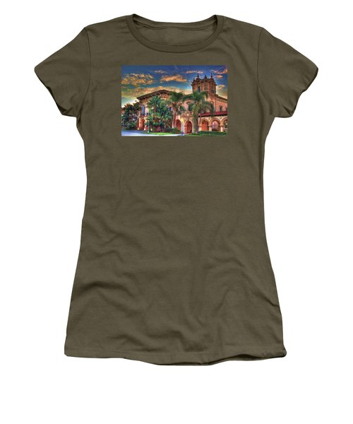 Women's T-Shirt (Junior Cut) featuring the photograph First Morning Glow by Gary Holmes