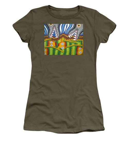 Fish Dinner Women's T-Shirt