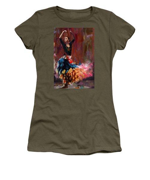Flamenco 50 Women's T-Shirt (Athletic Fit)