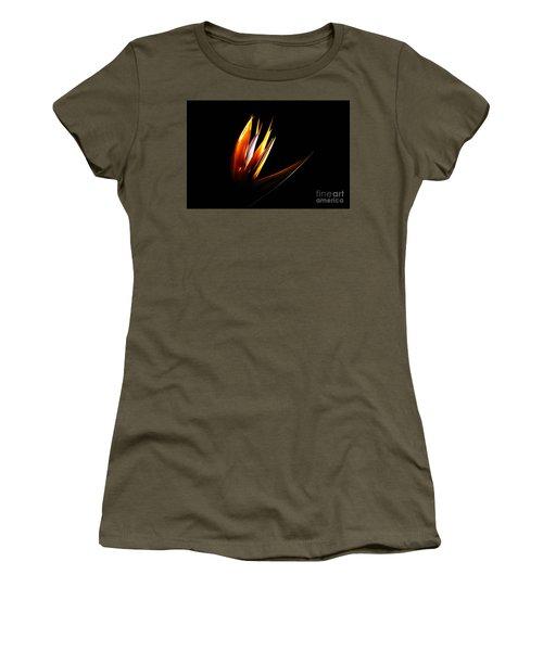 Flor Encendida Detalle Women's T-Shirt