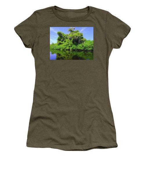 Florida Swamps Women's T-Shirt (Athletic Fit)