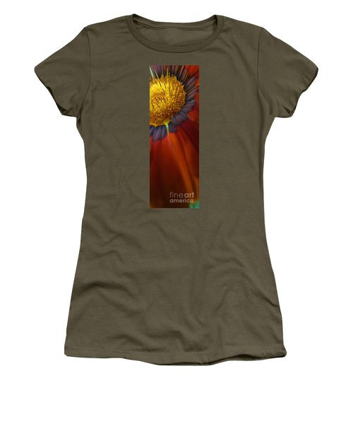 Women's T-Shirt (Junior Cut) featuring the photograph Flower by Andy Prendy