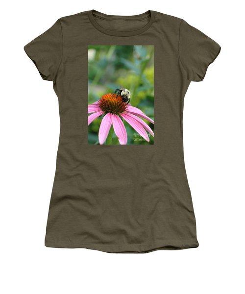 Flower Bumble Bee Women's T-Shirt