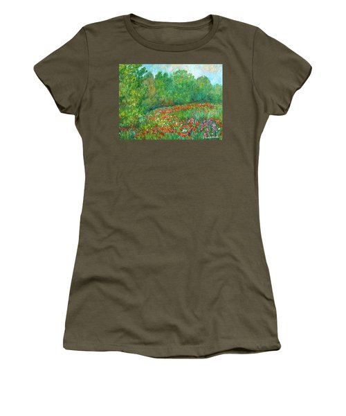 Flower Field Women's T-Shirt