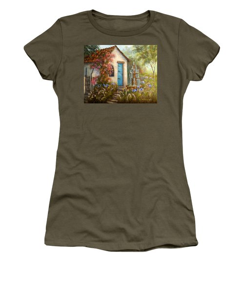 Flower Garden Paintings Women's T-Shirt