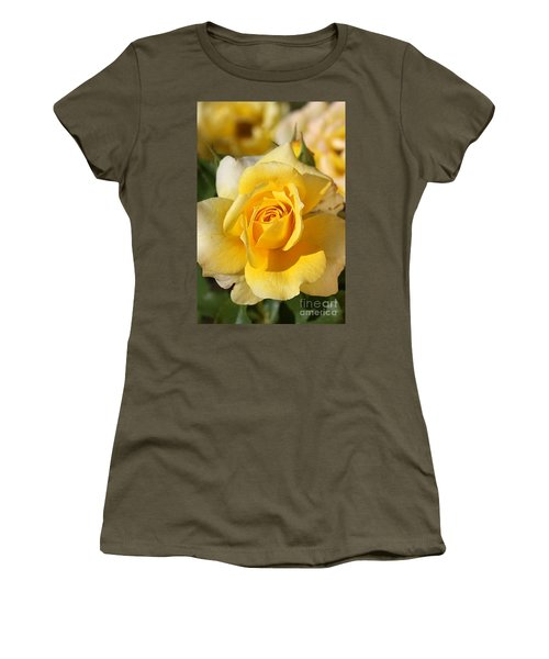 Flower-yellow Rose-delight Women's T-Shirt