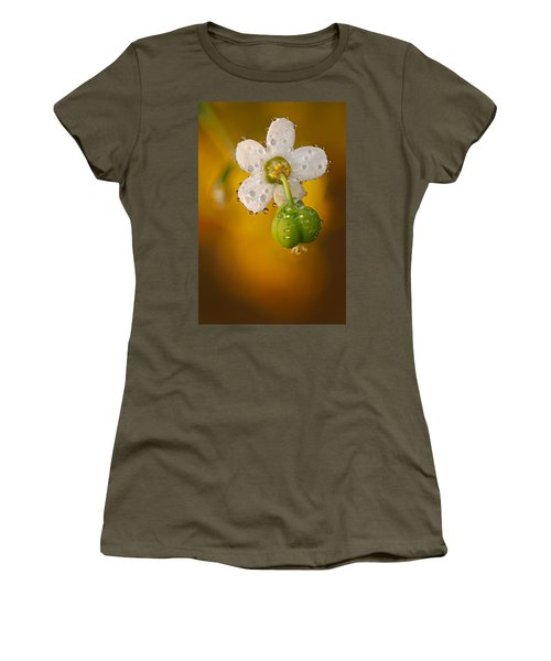 Flowering Spurge  Women's T-Shirt (Athletic Fit)