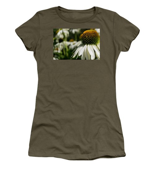 Flowers - Echinacea White Swan Women's T-Shirt