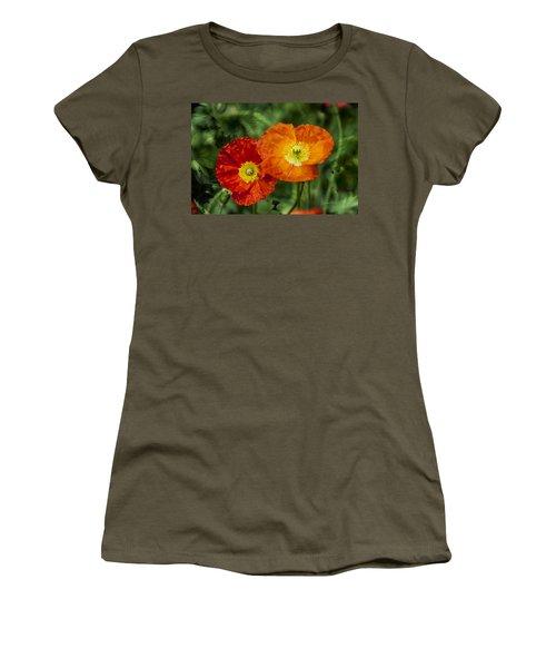 Flowers In Kodakchrome Women's T-Shirt