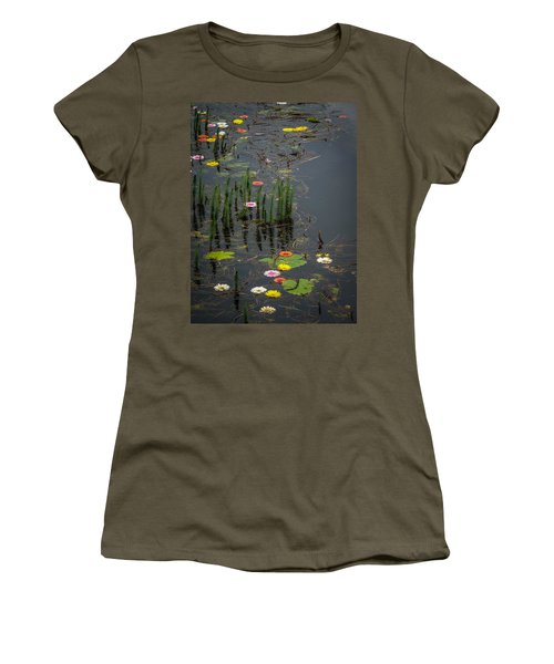 Flowers In The Markree Castle Moat Women's T-Shirt