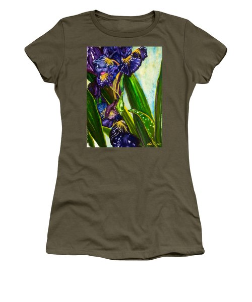 Flowers In Your Hair II Women's T-Shirt (Athletic Fit)