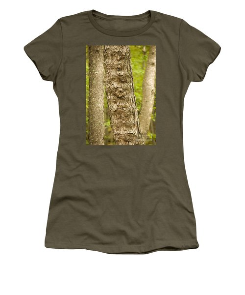 Fluted Tree Women's T-Shirt (Athletic Fit)