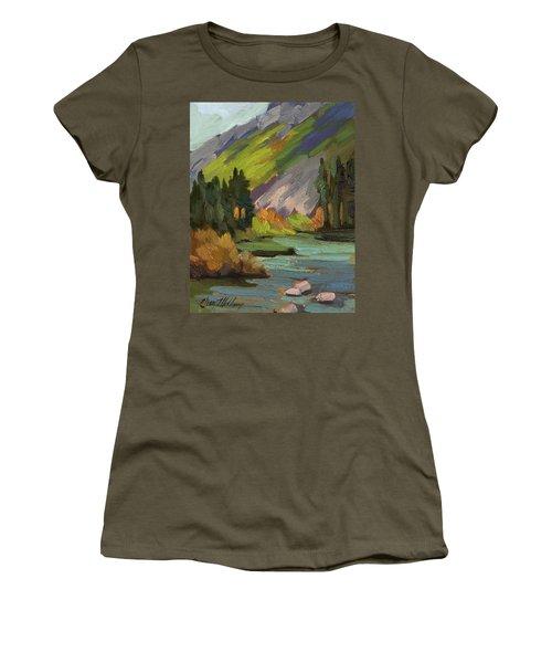 Fly Fishing Pond Women's T-Shirt