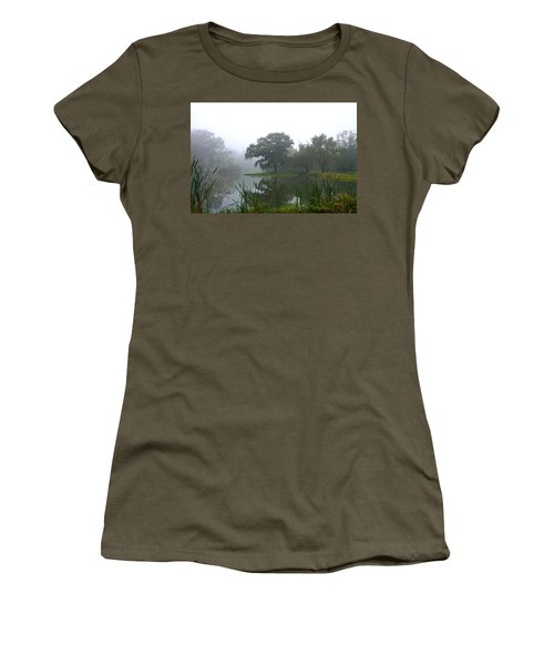 Foggy Morning At The Willows Women's T-Shirt