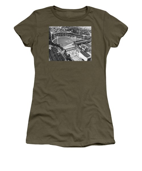 Forbes Field In Pittsburgh Women's T-Shirt