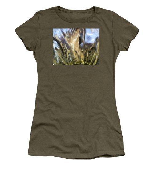 Women's T-Shirt (Junior Cut) featuring the photograph Forbidden Forest by Martin Howard