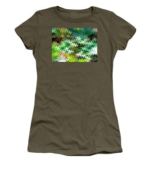Forest Women's T-Shirt (Junior Cut) by Anita Lewis
