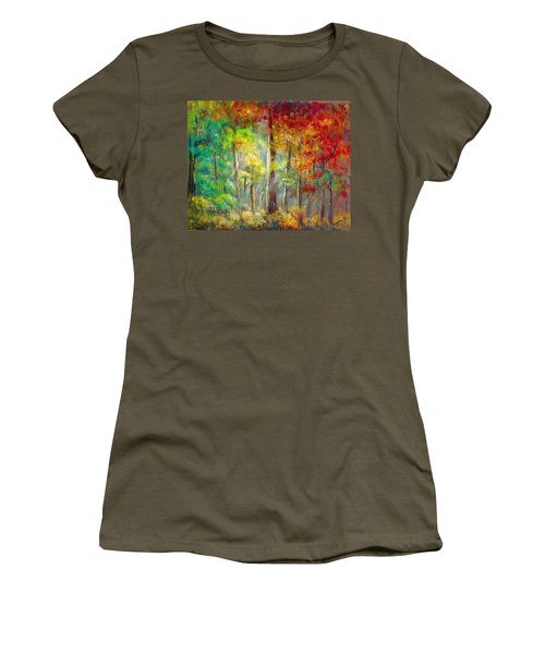 Forest Women's T-Shirt (Junior Cut) by Bozena Zajaczkowska