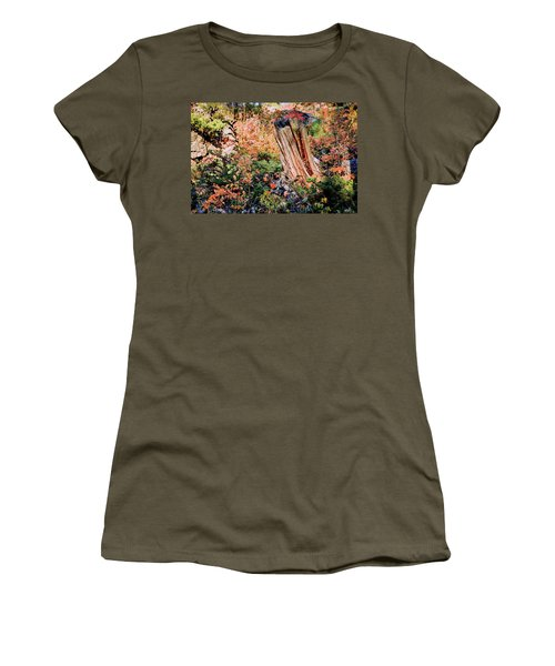 Forest Floral Women's T-Shirt