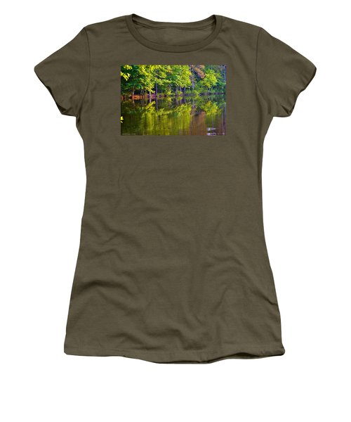 Forest In Reflection Women's T-Shirt