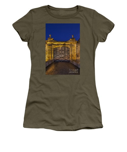 Women's T-Shirt featuring the photograph Fort Castillo San Cristobal Inpuerto Rico by Bryan Mullennix