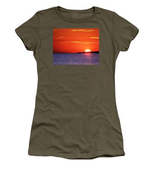 Fort Story Sunrise Women's T-Shirt