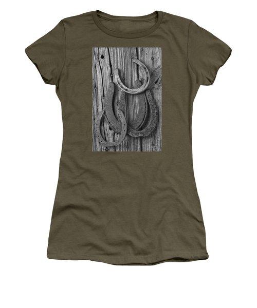 Four Horseshoes Women's T-Shirt