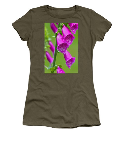 Foxglove Digitalis Purpurea Women's T-Shirt (Athletic Fit)