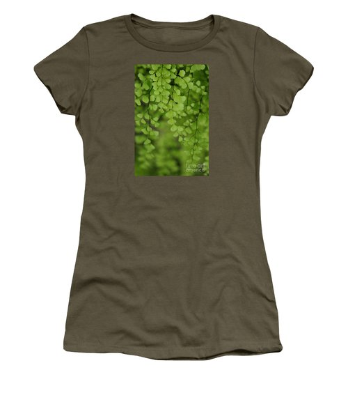 Women's T-Shirt featuring the photograph Fragile by Linda Shafer