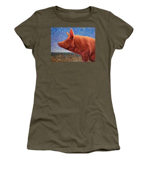 Free Range Pig Women's T-Shirt