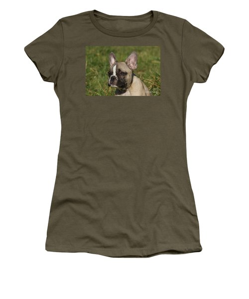 French Bulldog Puppy Women's T-Shirt