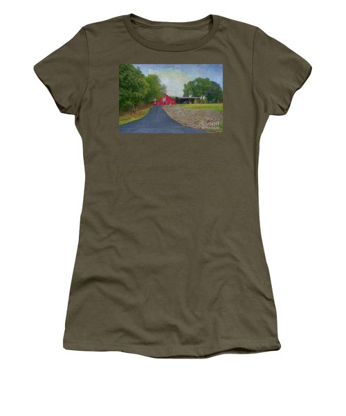 Women's T-Shirt (Junior Cut) featuring the photograph Fresh Country Charm by Liane Wright