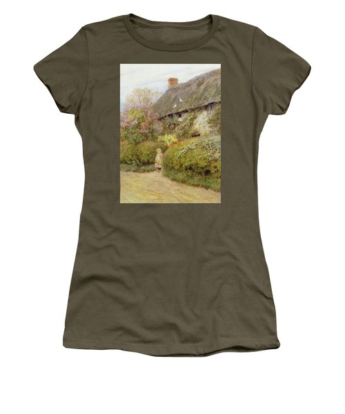 Freshwater Cottage Wc On Paper Women's T-Shirt