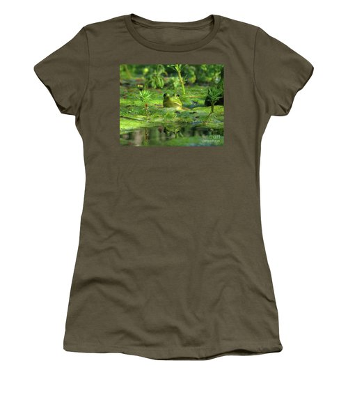 Frog Women's T-Shirt (Junior Cut)