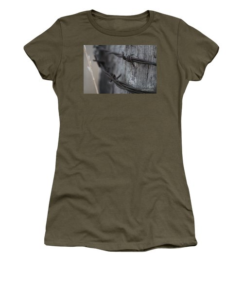Frost On The Wire Women's T-Shirt