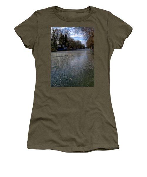 Frozen Canal Women's T-Shirt