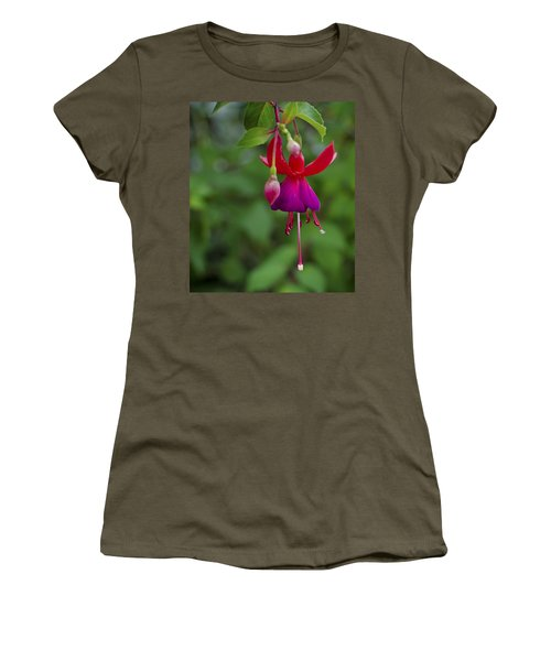 Fuschia Flower Women's T-Shirt