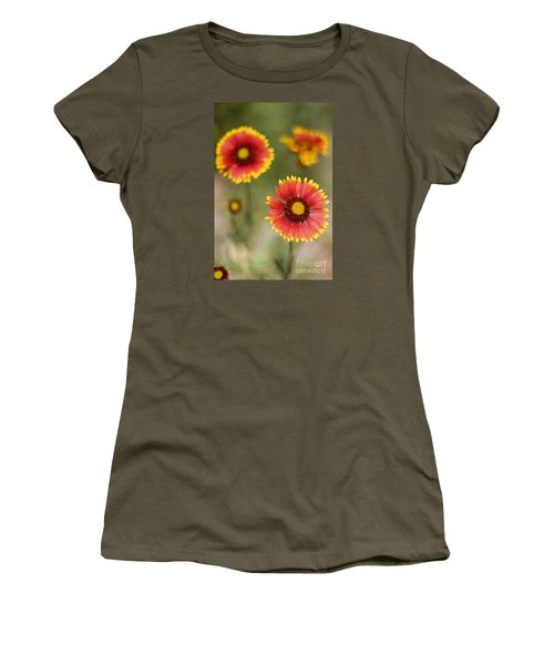 Gaillardia 'arizona Sun' Women's T-Shirt (Athletic Fit)