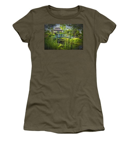 Garden At Houmas House Plantation La Dsc04584 Women's T-Shirt (Junior Cut) by Greg Kluempers