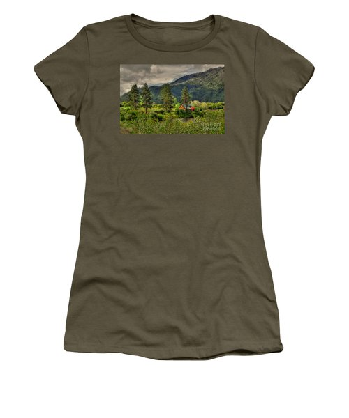 Garden Valley Women's T-Shirt (Athletic Fit)