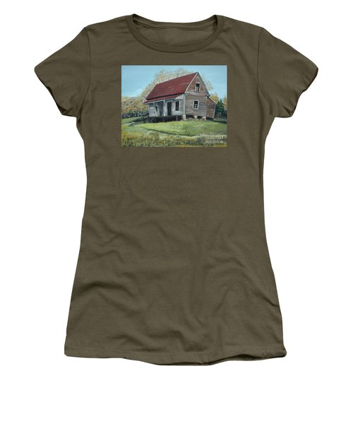 Gates Chapel - Ellijay Ga - Old Homestead Women's T-Shirt